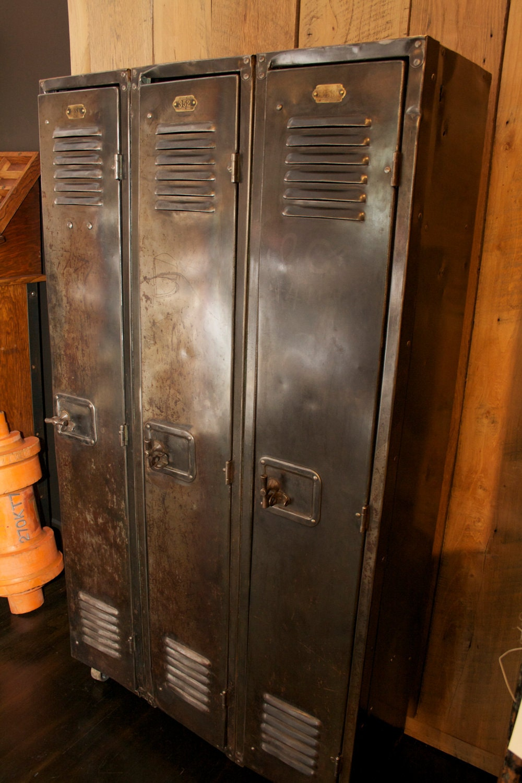 Vintage Industrial Lockers