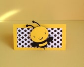 12 Bumble Bee treat bag Toppers Mommy to bee favors, Happy beeday