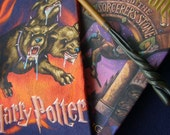 Harry Potter Scarf - Upcycled T Shirt Scarf