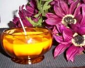 Sweet Pumpkin Spice Amber Glass