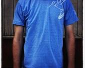 Screen Printed Hummingbird T-Shirt - Adult X-Large
