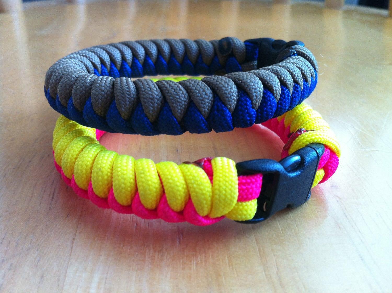 snake skin weave paracord bracelet by foxyknots on etsy