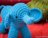 Elephant Amigurumi - Stuffed Crochet Toy
