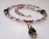 Free Shipping - Amethyst Necklace