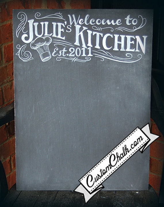 Popular items for custom kitchen sign on Etsy
