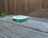 """Green Ribbon 1/4"""" thick 10 yards long"""