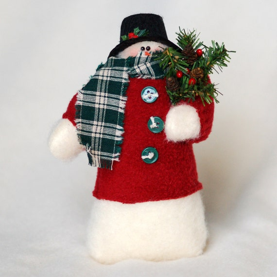 Snowman in a Fleece Coat