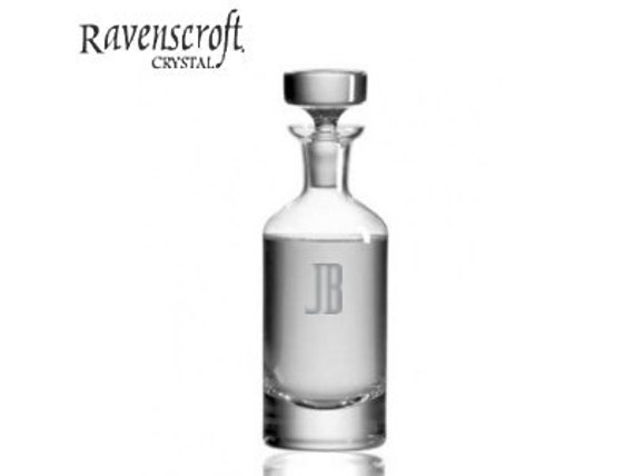 Personalized Whiskey Decanters - Groomsmen Gift Ideas