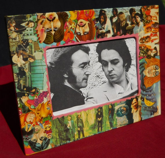 Beatles Magical Trippy Period picture frame rendering by Delhi Pietrala