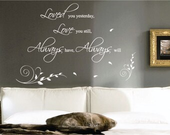 Love Wall Quotes Wall Art / Wall Stickers / Wall Decals from AmazingSticker