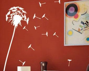 Dandelion Wall Art / Wall Stickers / Wall Decals from AmazingSticker