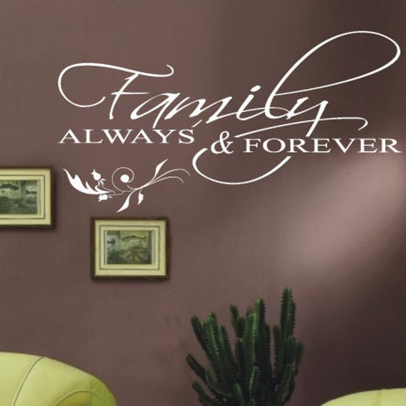 Family Wall Quotes Wall Art \/ Wall Stickers \/ Wall Decals from