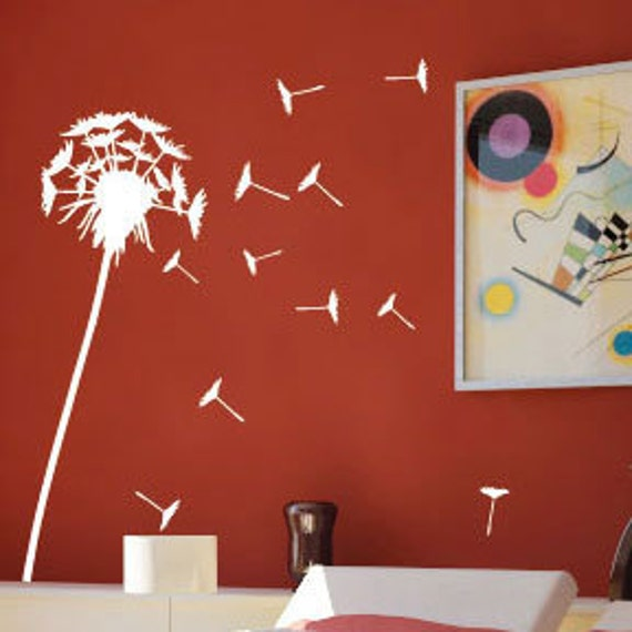 Dandelion Wall Art / Wall Stickers / Wall Decals from AmazingSticker