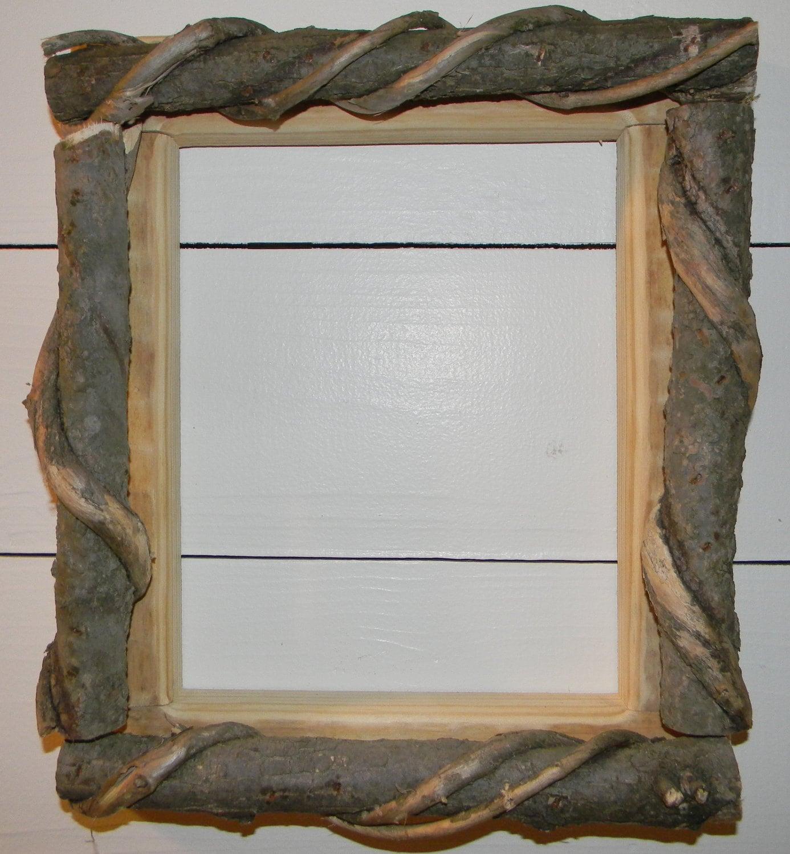 Rustic Cabin Wall Decor : Rustic picture frame cabin wall decor