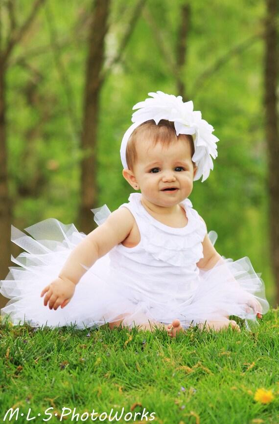 white pixie tutu all sizes girls newborn 3 6 9 12 18