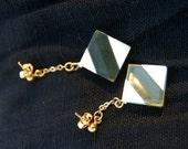 Vintage Geometric Dangle Earring