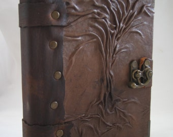 Handmade Leather Journal With Blank  Pages