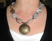 Dramatic Agate Necklace
