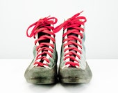 SALE Canyon Chouinard Unusual Womens Leather & Canvas Rock Climbing Shoes