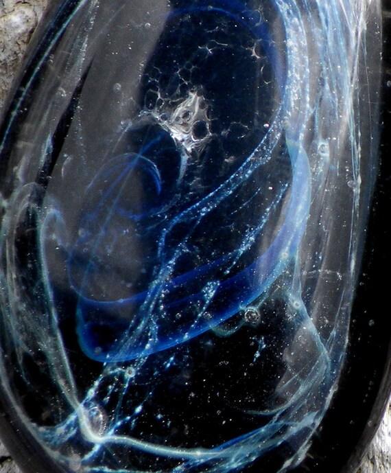 Glass Boro Pendant Starry Night Galaxy Glass Black Hole