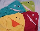 red monster towel