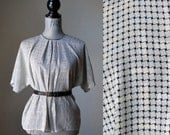 FINAL SALE - Woven and Weaved Top (size small)