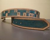 Digital Leather Belt