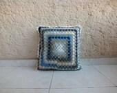 Crochet Pillow, 100% good quality cotton fill