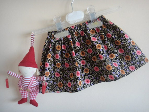 Clearance -- Skirt for Girls, Floral Print, from 6m to 18m