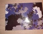 Large Upcycled Magazine Envelope- Abstract Blue