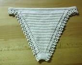 2 lingerie patterns PDF - SET of Crochet panties and thongs underwear underpants lacy cotton