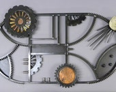 Large Gear Wall Hanging