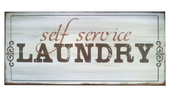 Laundry Sign,Self Service