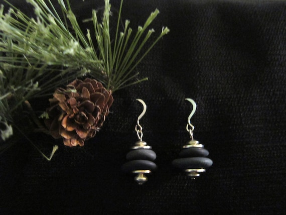 Lake Superior Double Stack Earrings