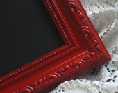 Apple Red 11x14 Vintage Chalkboard Frame