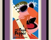 The Muppets - Sgt. Floyd Pepper of The Electric Mayhem 12x18 Poster