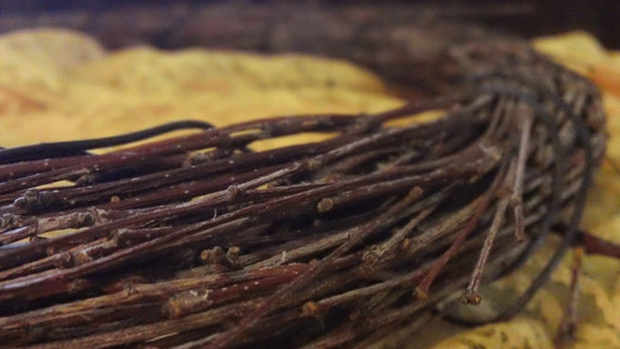 Delicate Handmade Grapevine Twig Wreath