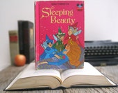 Kindle Cover or Nook Cover- Ereader Case made from a Book- Sleeping Beauty