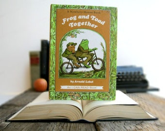 Kindle Cover or Nook Cover- Ereader Case made from a Book- Frog and Toad