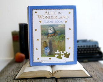 IPAD Cover- Tablet Case made from a Book- Alice in Wonderland