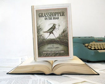 Kindle Cover or Nook Cover- Ereader Case made from a Book- Grasshopper on the Hill