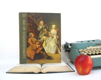 IPAD Cover- Tablet Case made from a vintage Book- Age of Enlightenment