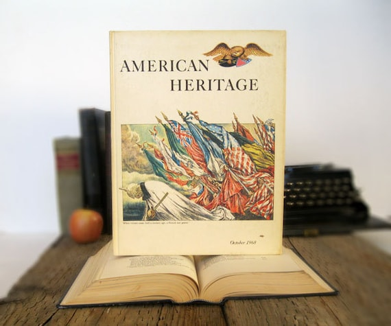 American Heritage Book Tablet Cover Case- (iPad / iPad Air / Kindle Fire 8.9 / Nexus 10 / Samsung 10.1 / Hardcover / Book)