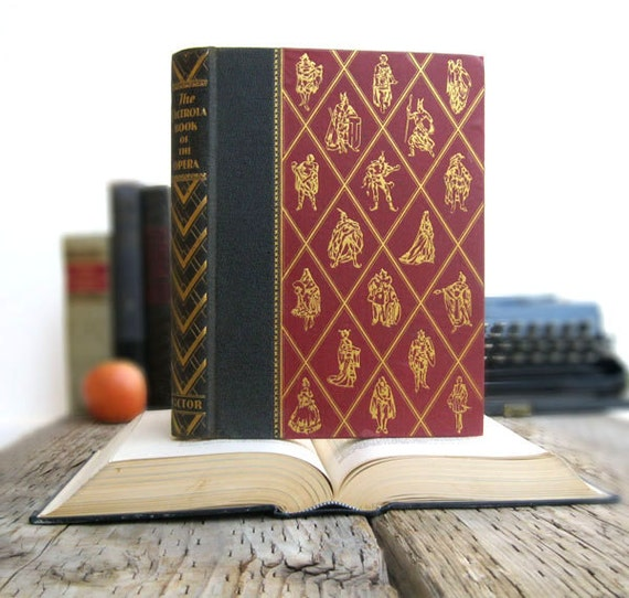Kindle Cover or Nook Cover- Ereader Case made from a Book- Opera