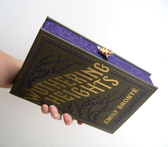 Book Clutch Purse- Wuthering Heights by Emily Bronte