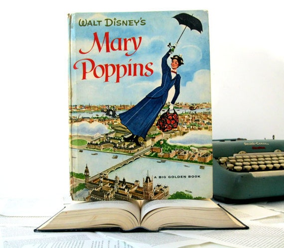IPAD Cover- Tablet Case made from a vintage Book- Mary Poppins