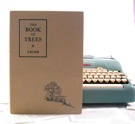 IPAD Cover- Tablet Case made from a vintage Book- The Book of Trees