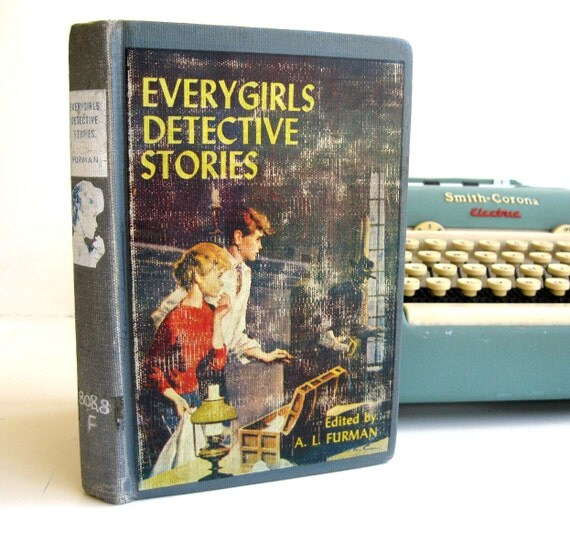 Kindle Cover or Nook Cover- Ereader Case made from a Book- Vintage- Every Girls Detective Stories