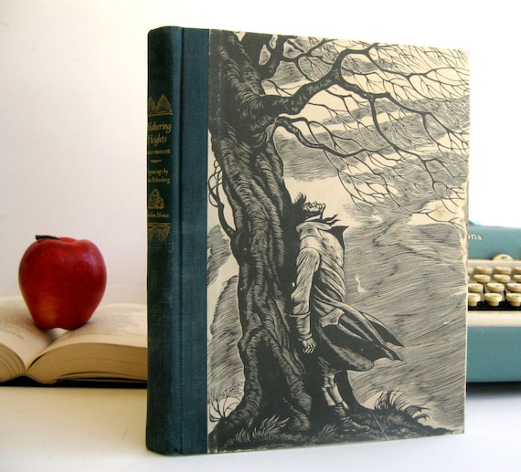iPad Cover- Tablet Case made from a vintage Book- Wuthering Heights