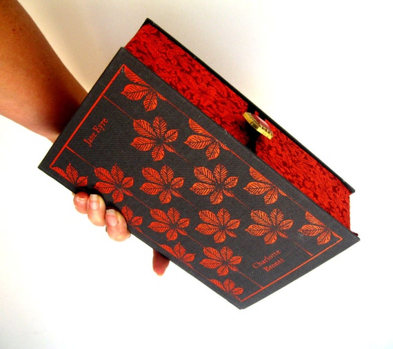 Book Clutch Purse- Jane Eyre- Bronte